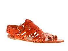"""There are two funny things about this:  1. huaraches are """"in style""""  2. These cost $148!!! Go to Mexico and you can get them for like $5!"""