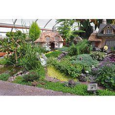 Detail of village house miniatures #garden, miniatures