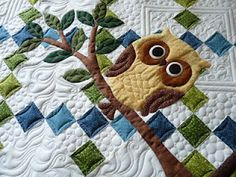 Sewing & Quilt Gallery: Whooo's the New Baby?