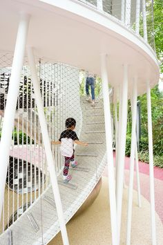 Clearwater Bay Road by CARVE « Landscape Architecture Works Landscape Architecture Design, Sustainable Architecture, Modern Architecture, Landscape Architects, Ancient Architecture, Modern Playground, Playground Design, Outdoor Playground, Playground Games