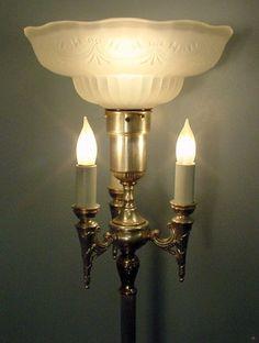 Candelabra Floor Lamp Vintage Traditional 3Candelabra Center Mogul Floor Lamp Complete