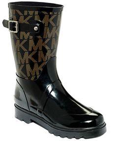 cfedb05da77 MICHAEL Michael Kors Logo Mid Rainboots Botas Sorel