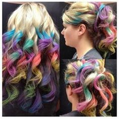 Cool hair coloring so cool i want to do this