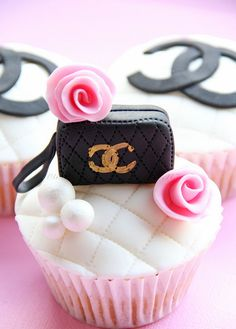 Chanel Cupcakes.