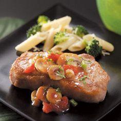 Zesty Pork Chops Recipe from Taste of Home -- shared by Cheryl Boak of Rothesay, New Brunswick