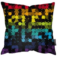 Simon C Page geometric cushion. Available to buy from ClickForArt.
