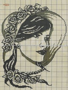 counted cross stitch how to Wedding Cross Stitch Patterns, Funny Cross Stitch Patterns, Cross Stitch Charts, Diy Bead Embroidery, Cross Stitch Embroidery, Embroidery Patterns, Cross Stitch Angels, Cross Stitch Flowers, Cross Stitch Silhouette