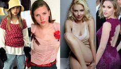 Scarlett Johansson no siempre fue el ícono sexy que es ahora. Repasamos la transformación a través de los años de una de las mujeres con más estilo de Hollywood.