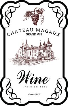my design / wine label
