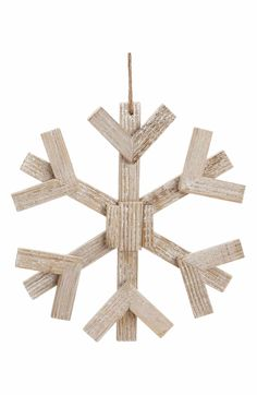 Main Image - ALLSTATE 'Drift' Snowflake Ornament