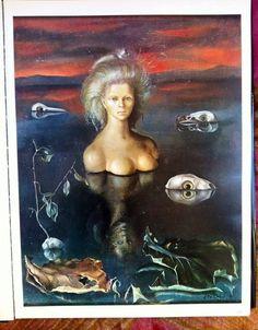 one surrealist a day, Le Bout du monde by Leonor Fini, Oil on. Max Ernst, Hieronymus Bosch, Francis Picabia, Henri Cartier Bresson, Mystique, Trieste, Illustrations, Bedtime Stories, Art History