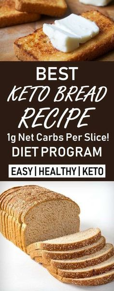 Today we're going to show you a nice recipe for a keto bread you can eat safely every day without fearing that you'll gain weight.
