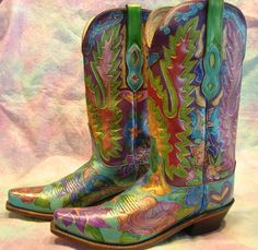 1000 Images About Vintage Cowboy Boots On Pinterest