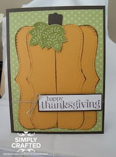 Pumpkin Fall Thanksgiving Using top note die