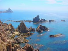 Cabo de gata Natural Park, Almería-Spain  Sun, a lot of beautiful and wild beaches, you don't need swimsuit!!!!... Hahaha Places In Spain, All Over The World, Beautiful Beaches, Wonderful Places, Paradise, Country, Water, Summer, Travel