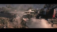 A Detailed Visual Effects Breakdown of the Destruction of Tony Stark's Mansion Scene From 'Iron Man 3'