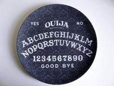 Ouija Board - Decorative Plate - Melamine - Dinnerware - Occult. $16.00, via Etsy.