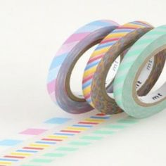 Japanese Washi Masking Tape Set of 3 – Slim Twist Cord A.  Get it here: http://washikawaii.com/shop/japanese-washi-masking-tape-set-of-3-slim-twist-cord-a/