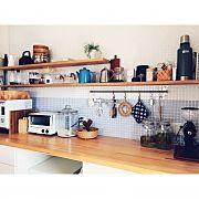 Kitchen,ナチュラル,タイル,北欧,シンプル,キッチン収納に関連する他の写真