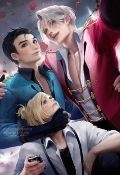 Yuri On Ice group pic by sakimichan.deviantart.com on @DeviantArt