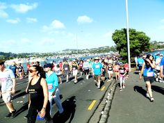 43rd annual Ports of Auckland Round the Bays. A total of $151,511.37 funds raised! What a great experience!