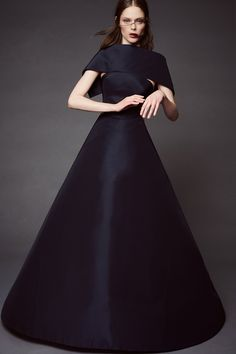 Zac Posen's resort 2016 collection brought the drama
