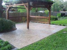 colored concrete patio pictures | Concrete Repairs by San Antonio Decorative Concrete San Antonio, Texas