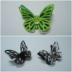 Broches de goma eva Mariposas
