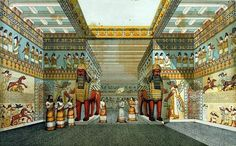 Inside of The Palace of Babylon (formal chambers)