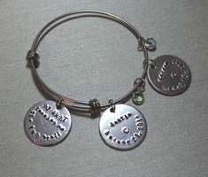 Aunt Bracelet Aunt Gift Aunt Charm Aunt 2018 Personalized