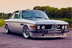 BMW E9...the drop does wonders for an already impressive looking car.