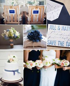 Ideaboard: Blue and a tiny bit of white - Wedding Colors Diy Wedding Decorations, Reception Decorations, Table Decorations, Blue Wedding, Wedding Colors, Dream Wedding, Diy Photo, Wedding Trends, Getting Married