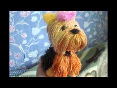 This video demonstrates how to sew the face hair, nose and eyes on to the Yorkie. The full Yorkie pattern can be found here http://crochetparfait.blogspot.co...