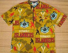 Vintage Hawaii Islanders Baseball Hawaiian shirt