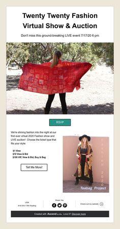 Twenty Twenty Fashion  Virtual Show & Auction