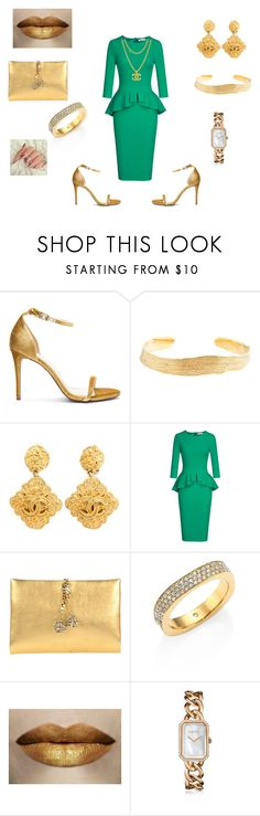 """Christmas church dinner"" by bebejohnson ❤ liked on Polyvore featuring Raye, Cornelia Webb, Chanel, Roberto Cavalli and Michael Kors"