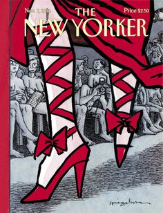 """The New Yorker - Monday, November 7, 1994 - Issue # 3633 - Vol. 70 - N° 35 - « The World of Fashion » - Cover """"Unveiled"""" by Art Spiegelman"""