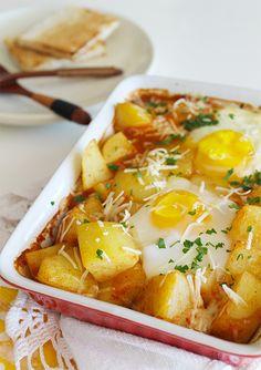 Batatas Bravas Assadas com Ovos_ Blog Figos & Funghis