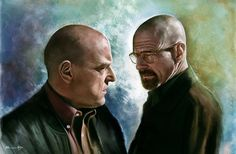 """""""Tread Lightly"""".   This Stunning """"Breaking Bad"""" Artwork Will Make You Miss It All Over Again"""