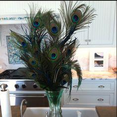 Peacock Christmas Decorations!