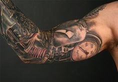 Google Image Result for http://xerposa.com/wp-content/uploads/2012/02/Stephane_Chaudesaigues_steampunk_tattoo.jpg