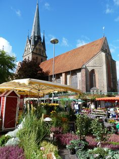 St. Nikolai Church, Flensburg, Germany. This is where my great, great, grandpa got married in 1873.