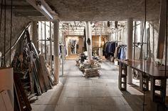 Patrik Ervell pop up store by Graham Hudson, New York store design