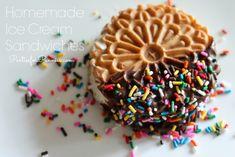 Ice Cream Sandwiches by PartiesforPennies.com #desserts #icecream #partyfood