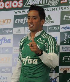 Lucas Barrios Palmeiras (Foto: Felipe Zito)