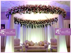 A valima or wedding stage