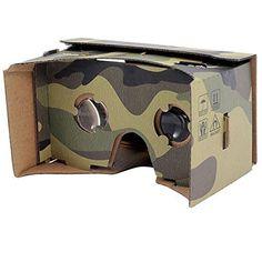 camouflage VR cardboard viewer