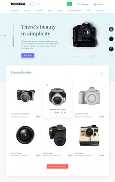 Ecommerce website exploration  colors concept 02