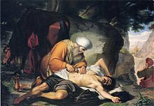 Compassion in action: an 18th-century Italian depiction of the Parable of the Good Samaritan