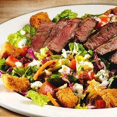 Have you tried Texas Roadhouse - Countryside, IL's Steakhouse Filet Salad? #KentsDeals